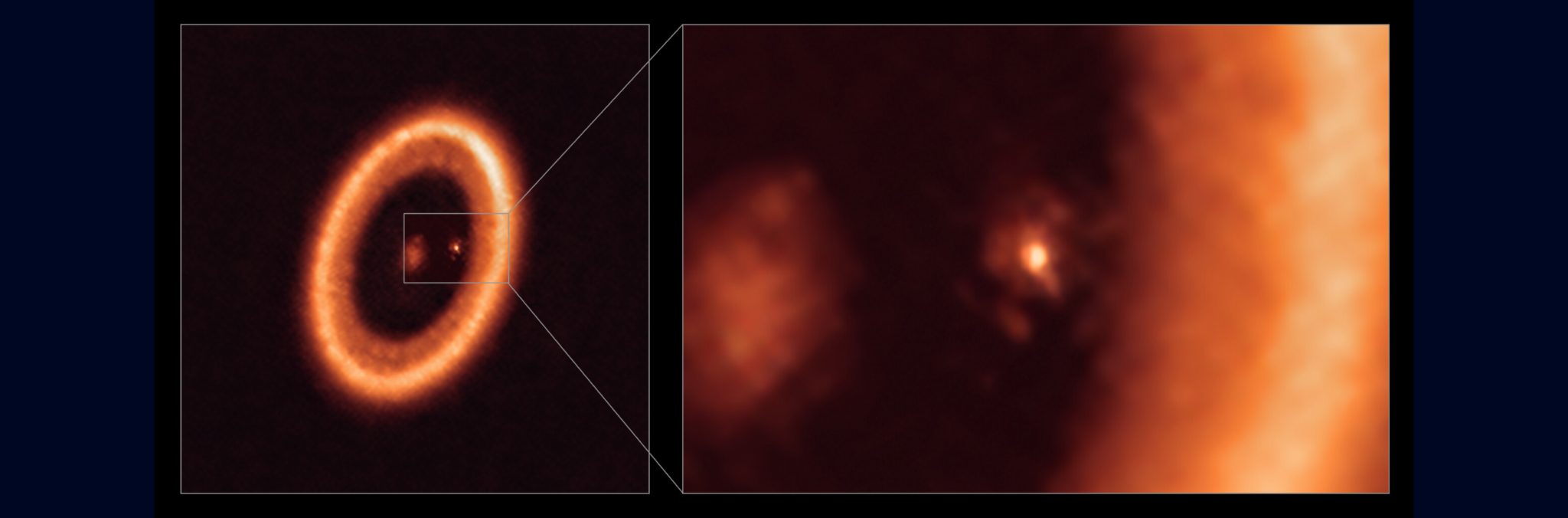 Astronomers make first clear detection of a moon-forming disc around an exoplanet